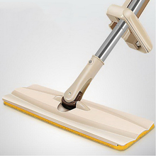 341203/Household flat mop/High-quality stainless steel/durable/Elastic design/Flexible rotation axis/Microfiber cloth