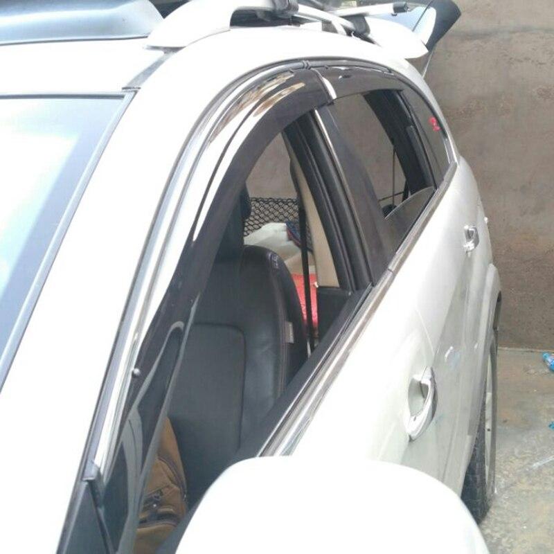 Pare-fenêtre de style automobile pour Chevrolet Captiva 2012 2013 2014 pare-soleil autocollants couvre-voiture style auvents abris Ca
