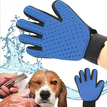 Pet Grooming Glove Cat Dog Hair Remover Glove Washing Deshedding Massage Brush Glove Dog Combs Pet Grooming Tools Pet Supplies 1