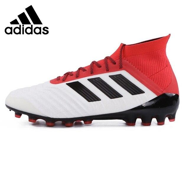 Nueva llegada original 2018 Adidas Predator 18.1 Los hombres AG fútbol Zapatillas  de Soccer sneakers ce9b12173c284