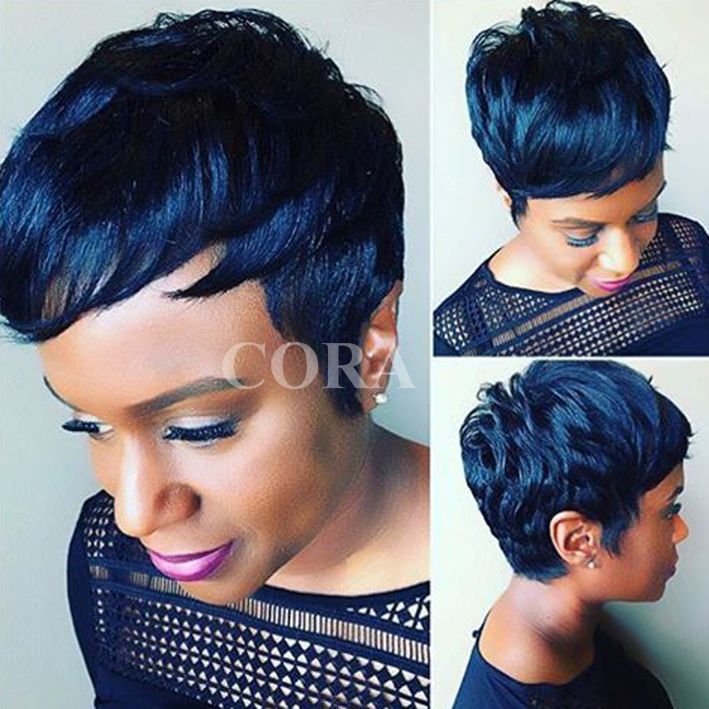 Multi Colored Natural African American Hair