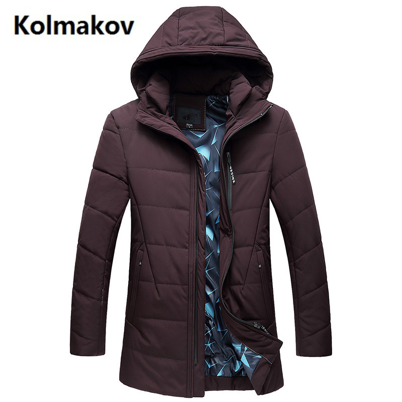 2017 Winter new Dust coat Mens fashion High quality thicken Down jacket men Hooded winter jackets mens down coats size L-7XL