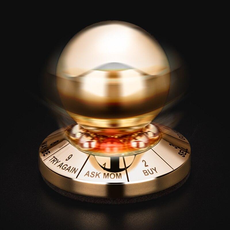 Balle magique destin créatif prédit la prise de décision balle astuce jouet roman bureau décompression