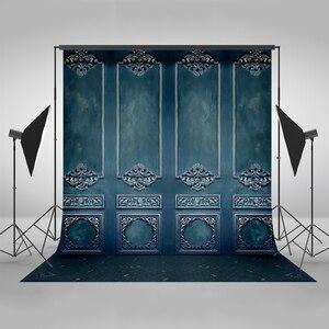 Mehofoto фоны для фотосъемки синий настенный Фон Фото фон цифровые печатные фоны для фотостудии винил полиэстер