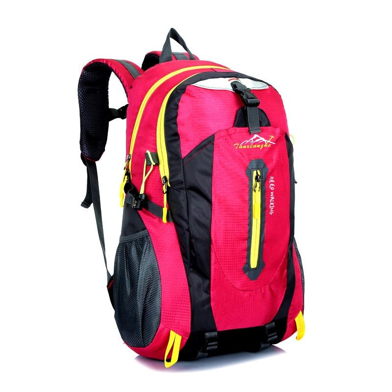 viagem mochila de trekking bolsa Tipo2 : Waterproof Nylon Sprot Backpack