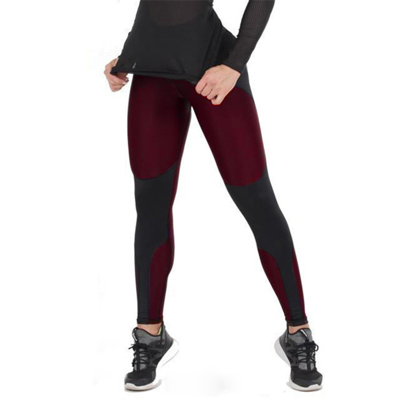 SVOKOR High Waist And Trousers Fitness   Leggings   Sports Women's Polyester Patchwork Push Up Fashion Women   Legging