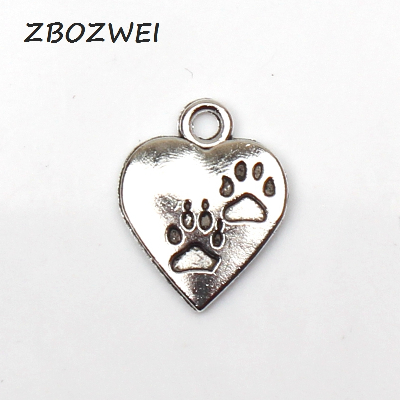 Cocktail Charm//Pendant Tibetan Antique Silver 17mm  12 Charms Accessory Crafts