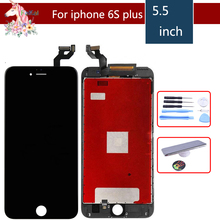 Touch Display For iPhone 6 plus iPhone 6S plus LCD Screen for iPhone 6plus 6Splus LCD Display Touch Screen Digitizer Replacement lcd display screen flex cable for iphone 6 plus