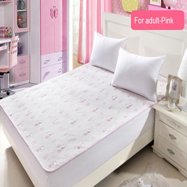 Queen Bed 150x200cm Reusable And Waterproof Sheet Protector Breathable Incontinence Pad Mattress