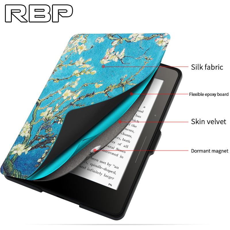 RBP for Amazon kindle protective case 6 inch KPW2/3 holster 958 handheld reader ultra-thin for kindie paperwhite case 6 inch new 6 ed060sc7 lf c1 e ink lcd display for amazon kindle 3 k3 ebook reader large amount in stock