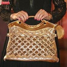 Femmes sac à main strass sac à bandoulière dames grande capacité femme sac de messager petits sacs de soirée 2020 diamants mode luxe