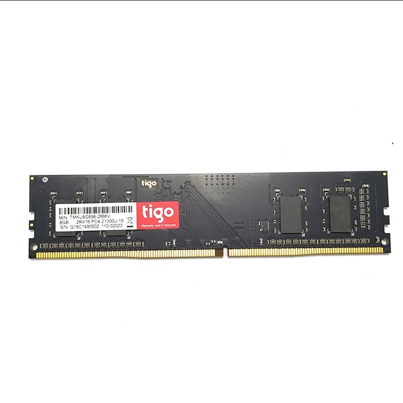 PC RAM DDR4 8 GB 16 GB 2666 MHz haute qualité tout nouveau mémoria DDR 4 DIMM 288PIN mémoire pour bureau