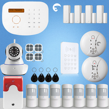 Etiger Wireless S2G GSM Burglar Alarm Intruder System With 1PCS IP Camera Infrared Security Alarm For Home Safe