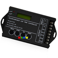 20A 5 Channel Output computer programmable Led Time Controller TC420 Assemble with USB cable