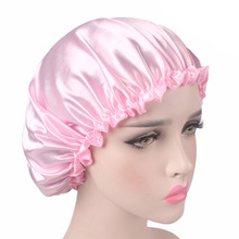 Satin Lace Bonnet Chemo Cap Thin Style Women Hair C