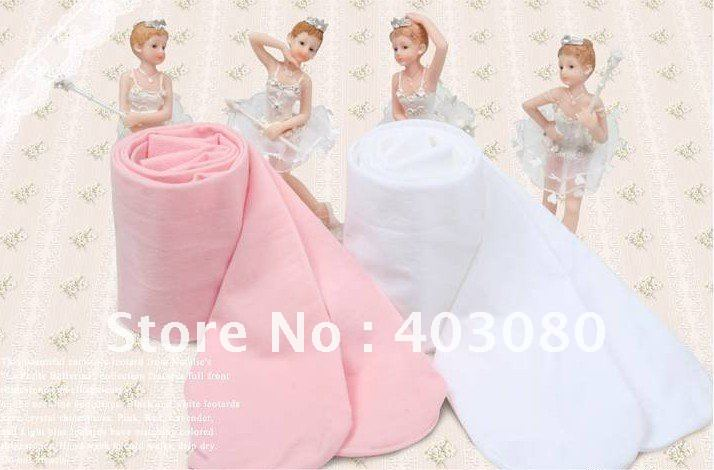 Wholesale & retail! High quality 3 years-7 years pink & white girls ballet socks,kid hose