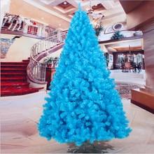 Christmas Must Haves azure 240cm / 2.4M color green PVC material Christmas festive decorations недорого