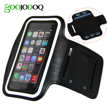 Armband for iPhone 8 7 Plus / 6 Plus / 6s Plus Waterproof Gym Sports Running Phone Pouch Case Cover+Key Holder for iPhone 8 Plus