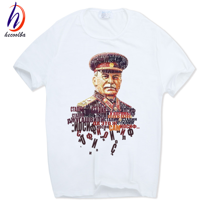 Men Print ALLIED NATIONS JOSEPH STALIN   T  -  shirt   O-Neck Short sleeves Summer Casual Fashion CCCP   T     Shirt   SWAG HCP680