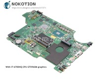 NOKOTION For MSI MS 17951 MS 1795 GP62 7QF 1843UK MS 16J51 Laptop Motherboard GTX960M graphics SR2FQ I7 6700HQ CPU