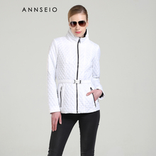 ANNSEIO 2016 new style women leisure coat fashion short paragraph cotton padded jacket hot selling slim down warm jacket A8717-2