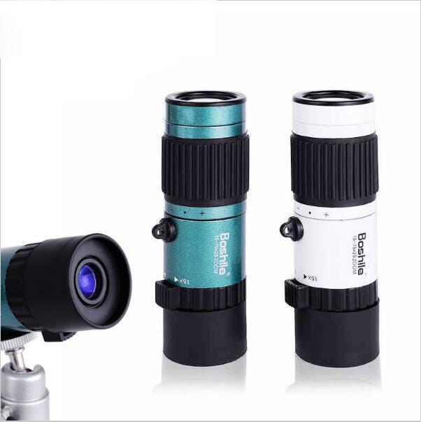 De alta Qualidade Poderoso 15-75x25 HD de foco de Alta Potência Flexível Mini Monocular Zoom binóculos Telescópio De Bolso viagens caça