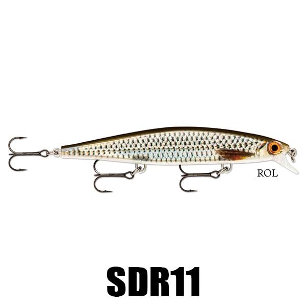 Rapala SDR11CBN Shadow Rap Carbon Crankbait Sz 11 Casting Fishing Lure for sale online