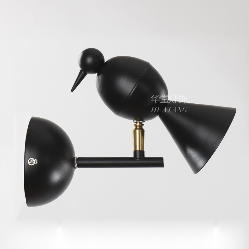 Modern Creative Bird Wall Sconces Modern LED Wall Light Fixtures For Bedroom Bedside Led Wall Lamp for Home Lighting ZBD0059 modern nordic bird wall lamp modern led wall light fixtures for bedroom bedside led wall mounted sconces home lighting lampara page 1