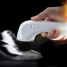 Оборудование для полировки обуви электрическая щетка с бытовой зарядкой бесцветная польская обувь костюм mainte