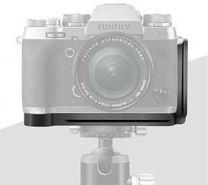 Image 2 - Быстросъемная L образная пластина, держатель, ручной захват, кронштейн для штатива для Fuji Fujifilm Fuji X T2 XT2, камера для Benro Arca Swiss, головка штатива