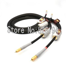 Free shipping Kharma Signature Extreme KIC-EEXS-1a audio RCA interconnect cable with RCA Gold plated plug