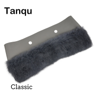 Tanqu New 11 Colors Women Classic Big Plush Trim For O BAG Thermal Plush Decoration Rabbit