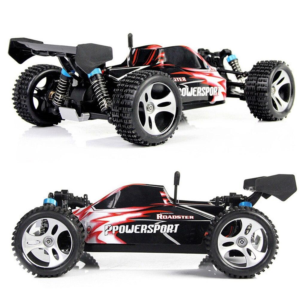 Wltoys 2.4 GHz 4WD RC voiture de course télécommande jouet électrique Machine de viechle haute vitesse 45 KM/H cadeau jouets pour garçon