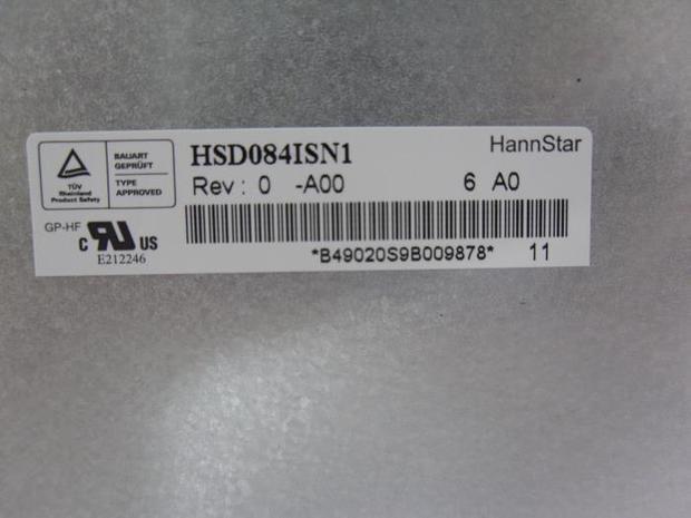 Free shipping New original HSD084ISN1-A00 Industrial equipment 8.4 inch LCD screen hsd100ixn1 a00 lcd displays