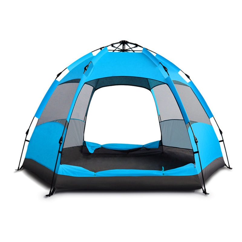 New Camping Automatic Tent Portable Instant Pop Up Tent Protection Sun Beach Tent Shelter for Multi Persons Travel SuppliesNew Camping Automatic Tent Portable Instant Pop Up Tent Protection Sun Beach Tent Shelter for Multi Persons Travel Supplies