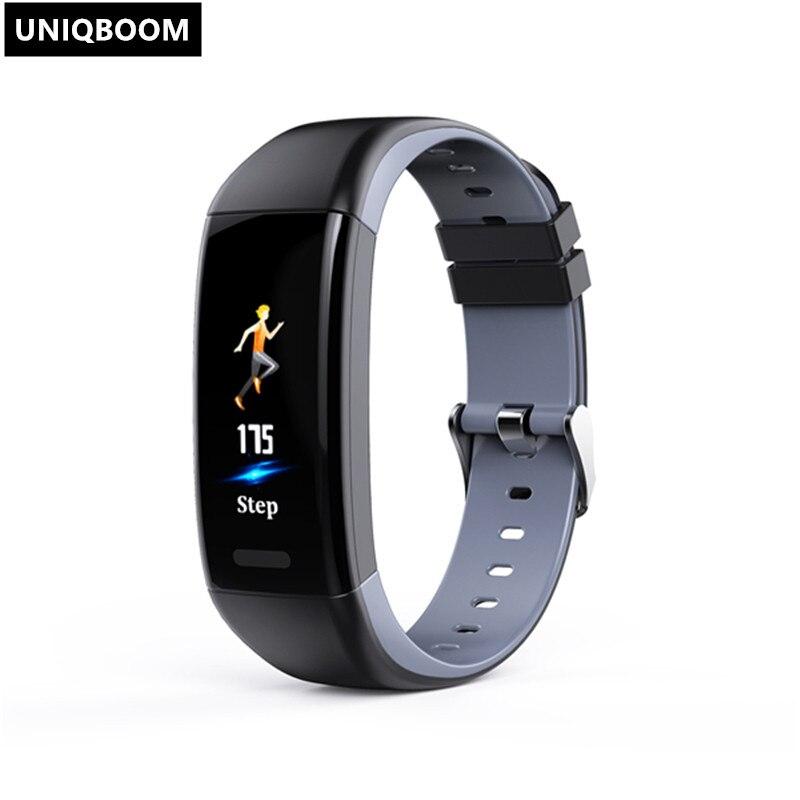 Купить новый бренд uniqboom смарт браслет с цветным дисплеем фитнес