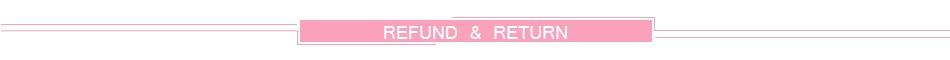 Refund & Retrun