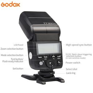 Image 4 - Godox TT350S 2.4G 1/8000S TTL GN36 ไร้สายแฟลชSpeedliteสำหรับกล้องSony A7 A7R A7S a7 II A7R II A7S II A6500 A6000