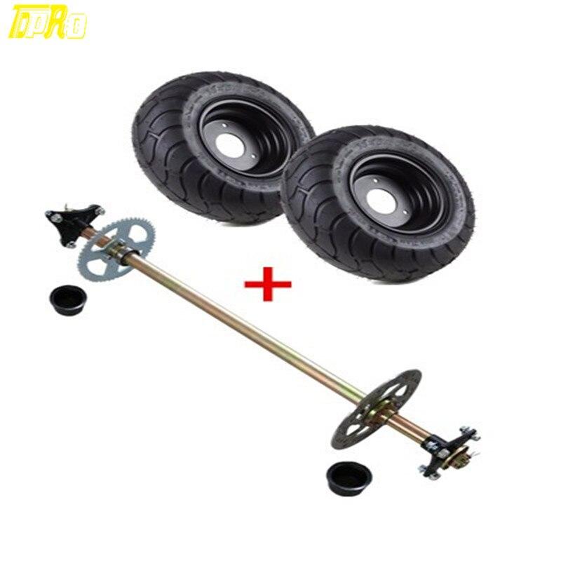 US $246 99 |Go Kart Rear Axle Assembly Kit + 6