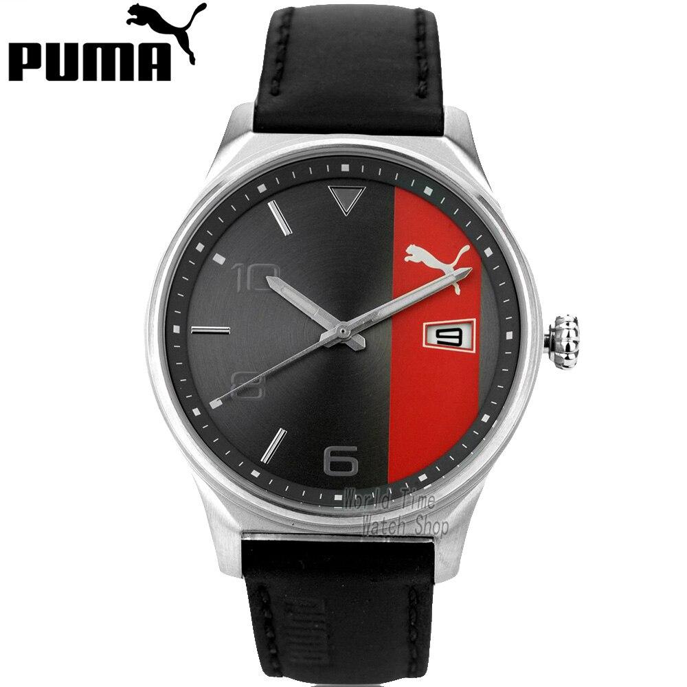 on sale ecf03 1a3d2 プーマ時計レジャーシリーズ半スケールクォーツ男性腕時計 ...