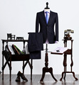 Brand men's 2016 spring new authentic men's business suits fashion Slim pant + jacket