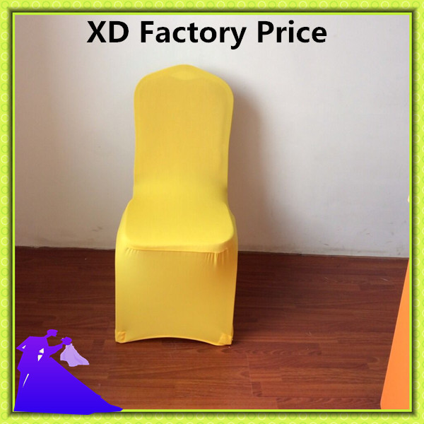 Yellow Spandex Chair Sashes Modern Bucket Chairs Marious Brand Wedding 50pcs Covers Wholesale Free Shipping