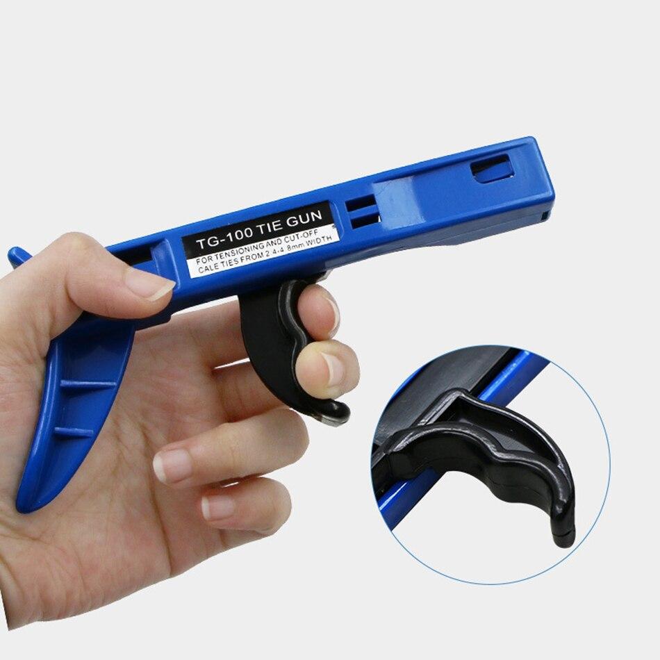 Zangen Gelernt Sattda Tg-100 Befestigungs Schneiden Werkzeug Sonder Für Kabel Tie Gun Für Nylon Hand Werkzeuge