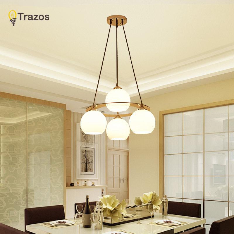 llevados modernos lmparas de techo para comedor redondo de acrlico del crculo lmpara colgante cocina comedor
