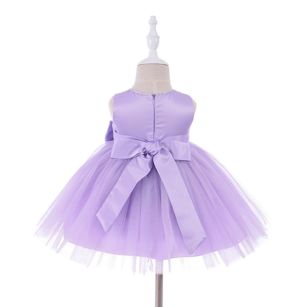 0-1 jaar verjaardag peuter meisje doop jurk bruiloft kostuums - Babykleding - Foto 6