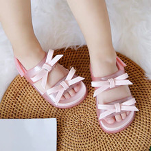 Mini Melissa Original 1:1 2019 New Girl Jelly Sandals Girls Casual Beach Sandal  High Quality 14.8-19.8CM