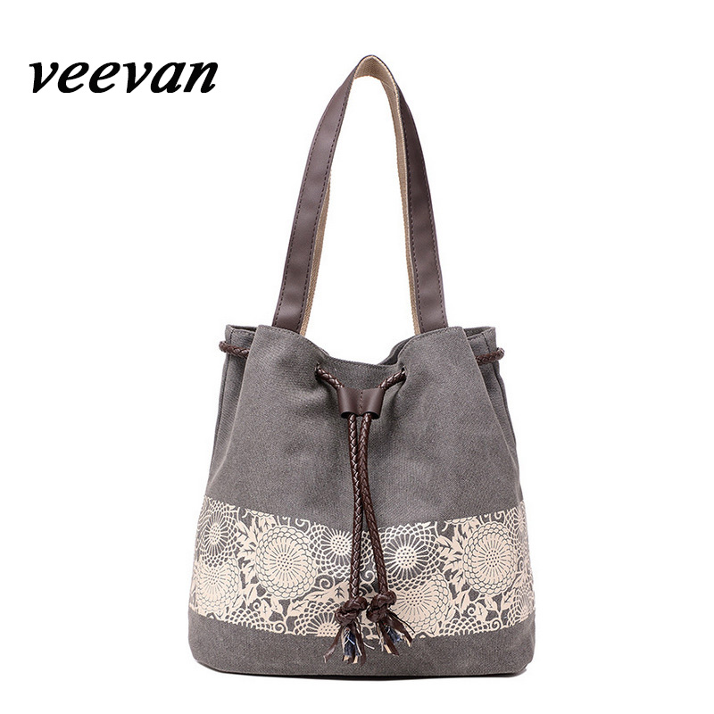 Veevanv 2017 New Art Fan Casual Handbag Bulk Ethnic Style Canvas Tote Bag Ping For Single Mall In Shoulder Bags From Luggage On