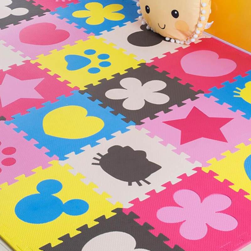 Bebe Eva Tapis De Jeu En Mousse Puzzles Tapis Bebe Enfants Tapis