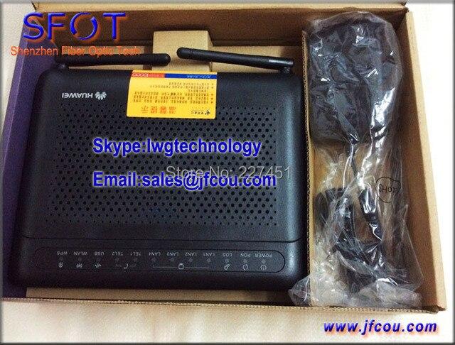 ОНУ Echolife HG8245 Epon оптический сетевой Терминал применяется к FTTH ОНТ беспроводной 802.11 WI-FI, протокол SIP, английская Система.