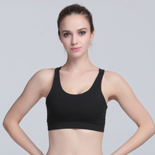 2018 explosion models sexy V-type shock-proof and quick-drying underwear fitness sport bra